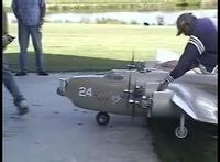 B-24 Crash Video